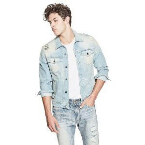 Dillon Denim Jacket | GUESS.com