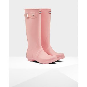 Womens Pink Tall Rain Boots | Official US Hunter Boots Store