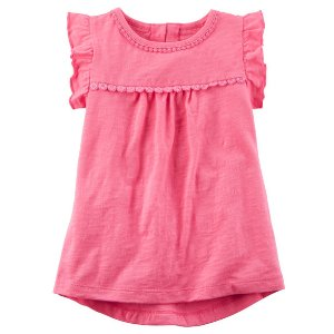 Baby Girl Ruffle-Sleeve Tank | Carters.com