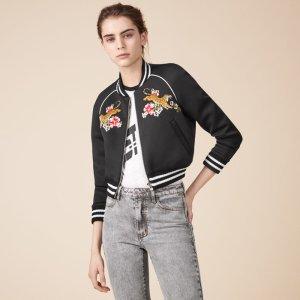 MERCURE Embroidered bomber jacket