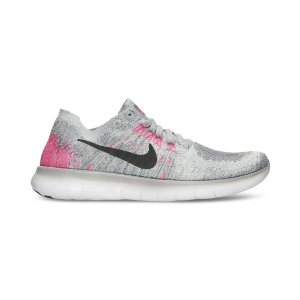 Nike Girls' Free Run Flyknit 2017 Running Sneakers from Finish Line - Finish Line Athletic Shoes - Kids & Baby - Macy's