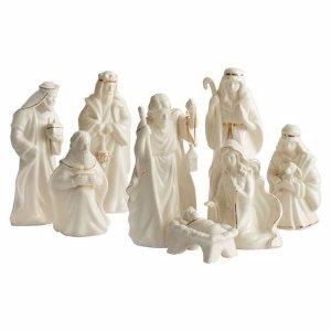Holiday Splendor 8 Piece Nativity Set