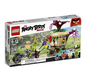 LEGO Angry Birds 75823 Bird Island Egg Heist Building Kit (277 Piece)