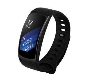 $69Samsung Gear Fit2 Smartwatch Black