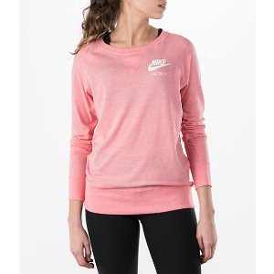 Women's Nike Gym Vintage Crew Shirt| Finish Line
