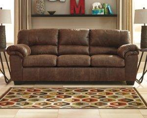 $398Ashley Furniture Bladen 皮质外观 布面沙发