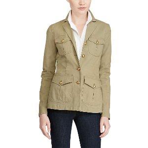 Stretch Canvas Field Jacket