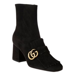 Best price on the market: Gucci Gucci Suede Ankle Boots