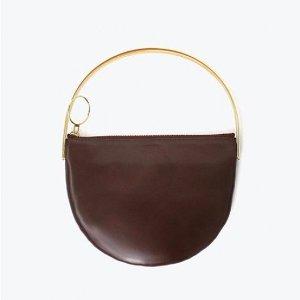 EENK Harp Bag Pullup Brown