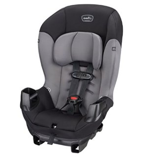 $36.37Evenflo Sonus Convertible Car Seat, Charcoal Sky