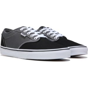 Vans Atwood Skate Shoe Black/Grey Two Tone