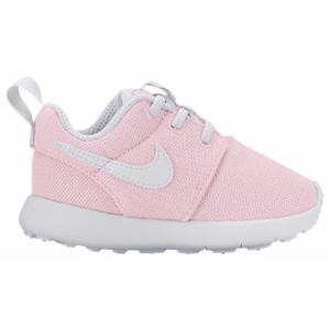 Nike Roshe One - Girls' Toddler - Running - Shoes - Prism Pink/White/Safety Orange
