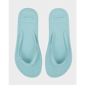 Womens Blue Flip Flops | Official US Hunter Boots Store