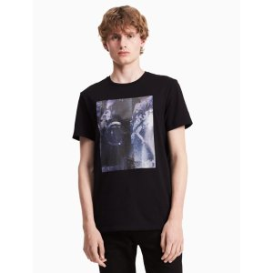 classic fit distorted exposure t-shirt | Calvin Klein