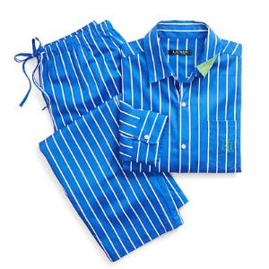 Stripe Cotton Sateen Sleep Set - Sleepwear & Robes � Women - RalphLauren.com