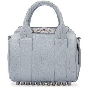 Alexander Wang: Blue Mini Rockie Bag