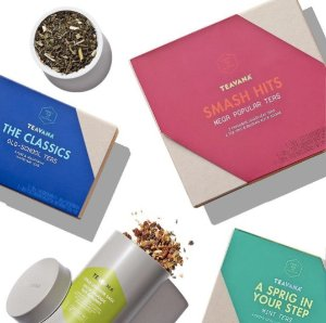 Buy One, Get One 50% Offon Select Gift Boxes and Tea Filled Tins @ Teavana