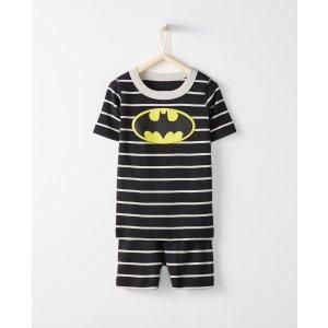 Justice League BATMAN™ Short John Pajamas In Organic Cotton