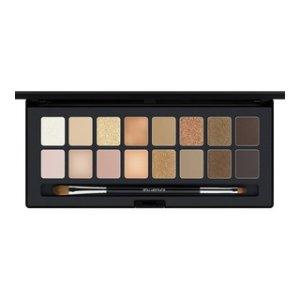 shu:palette blushing beige - 16 eyeshadows palette - shu uemura art of beauty