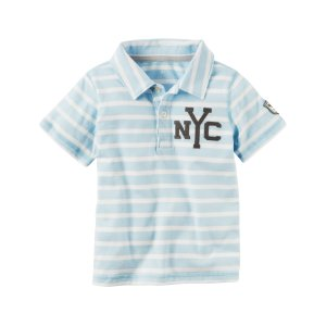 Toddler Boy Athletic Jersey Polo | Carters.com