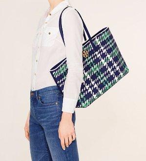 Up To 40% Off + Extra 30% OffDuet Woven Handbags Sale @ Tory Burch