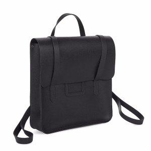 Navy Saffiano Folio Backpack | The Cambridge Satchel Company