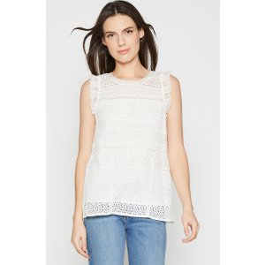 Women's Lupe Lace Top made of Cotton | Women's Sale by Joie