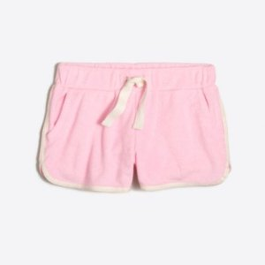 Girls' Terry Pull-On Short : Girls' Shorts & Rompers   J.Crew Factory
