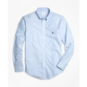 Men's Non-Iron Slim Fit Oxford Sport Shirt | Brooks Brothers