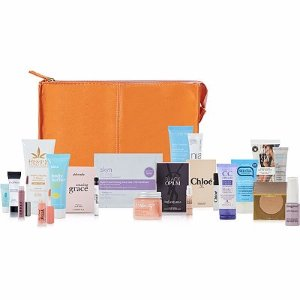 FREE Orange Slice Beauty Bag with any $75 purchase, a $150 value!