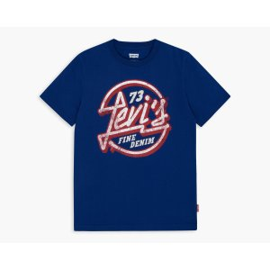 Boys (8-20) City Music Store Graphic Tee | Sodalite Blue |Levi's® United States (US)
