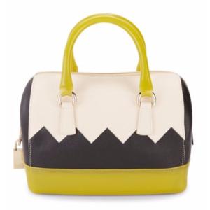 Furla - Leather-Blend Handbag - saksoff5th.com