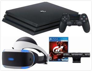 $499.99 (原价$699.99)PlayStation 4 Pro 主机 + VR Gran Turismo Sport套装