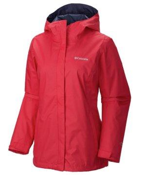 6折!仅售$35.97Columbia 哥伦比亚Arcadia II 女士防水冲锋衣(红色)
