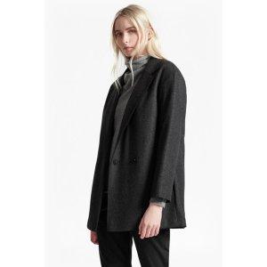 Platform Felt Cocoon Coat | Sale | French Connection Usa