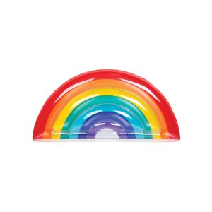 Rainbow Luxe Lie-On Floaty by SunnyLife at Gilt