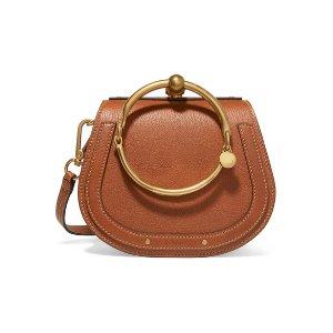 Nile small leather shoulder bag