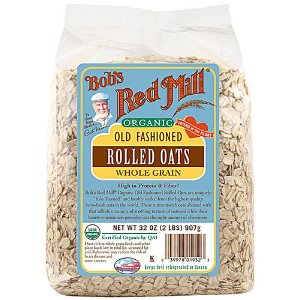Bob's Red Mill Organic Old Fashioned Rolled Oats -- 32 oz - Vitacost