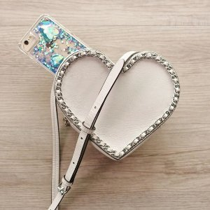 MAC Chain Heart Crossbody @ Rebecca Minkoff