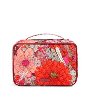 Large Blush & Brush Makeup Case | Vera Bradley
