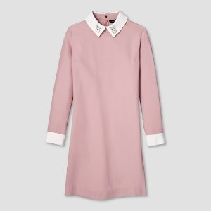 Women's Blush Collared Dress - Victoria Beckham for Target