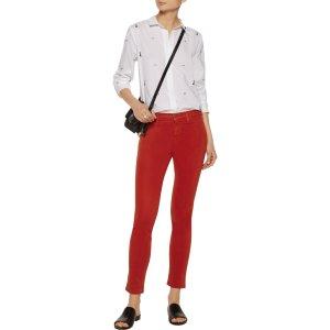 Leema embroidered cotton-poplin shirt | Equipment