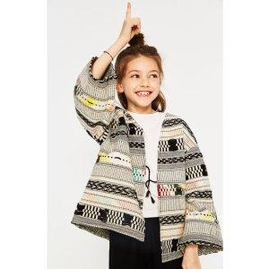 MULTICOLORED KIMONO - COATS-GIRL | 4-14 years-KIDS-SALE | ZARA United States
