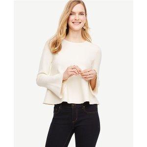 Flare Cuff Sweater | Ann Taylor