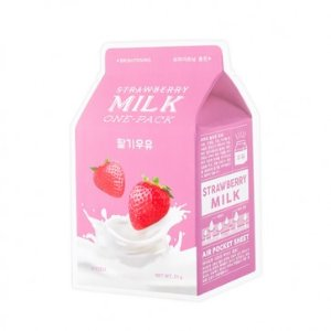 A'PIEU Strawberry Milk Sheet Mask | The Official Missha
