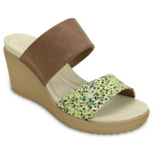 Women's Leigh II 2-strap Graphic Wedge | Women's Wedges | Crocs Official Site