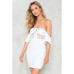Corset Values Mesh Dress   Shop Clothes at Nasty Gal!