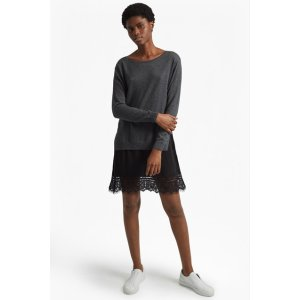 Melba Knits Long Sleeved Jumper Dress