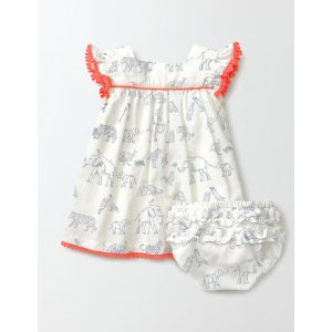 Pretty Floaty Dress 73259 Day Dresses at Boden