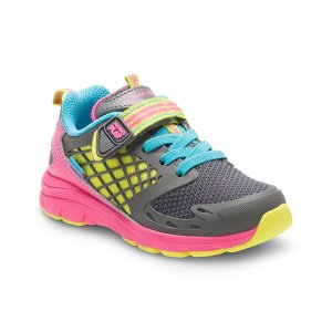 Stride Rite Pink & Gray Made2Play Cannan Sneaker | zulily